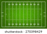 american football field with... | Shutterstock .eps vector #270398429