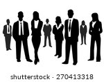business people  | Shutterstock .eps vector #270413318