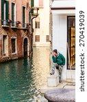 venice  italy   january 23 ... | Shutterstock . vector #270419039
