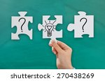 close up of person hand with... | Shutterstock . vector #270438269