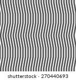 black and white geometric... | Shutterstock .eps vector #270440693
