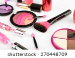 different cosmetics close up | Shutterstock . vector #270448709
