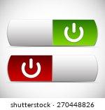 power button ui elements. turn...