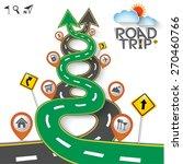 design road   street template... | Shutterstock .eps vector #270460766