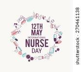 international nurses day... | Shutterstock .eps vector #270461138