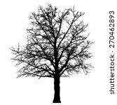 tree vector illustration. | Shutterstock .eps vector #270462893