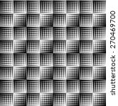 black and white pattern with...   Shutterstock .eps vector #270469700