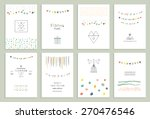 collection of hand drawn party... | Shutterstock .eps vector #270476546