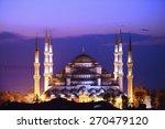 Illuminated Sultan Ahmed Mosqu...