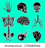 set of an internal of the... | Shutterstock .eps vector #270480566