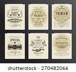 set of poster  flyer  brochure... | Shutterstock .eps vector #270482066