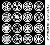 car wheel icons | Shutterstock .eps vector #270485750