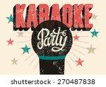 typographic retro grunge... | Shutterstock .eps vector #270487838