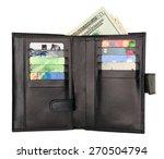 Black Natural Leather Wallet...