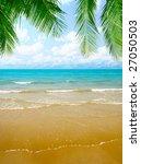 sand and ocean | Shutterstock . vector #27050503