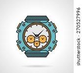 flat color design vector icon...   Shutterstock .eps vector #270527996