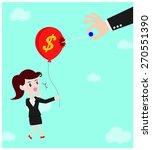 economic bomb | Shutterstock .eps vector #270551390