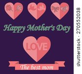 happy mothers's day template | Shutterstock . vector #270552038
