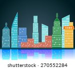 vector city  | Shutterstock .eps vector #270552284