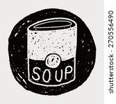soup doodle | Shutterstock . vector #270556490