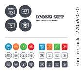 smart tv mode icon. aspect... | Shutterstock .eps vector #270562070