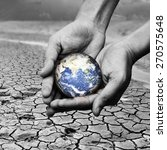 earth in hands   environment...
