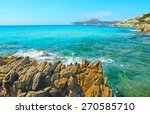 yellow rocks in santa reparata... | Shutterstock . vector #270585710