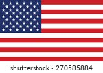 united states flag vector | Shutterstock .eps vector #270585884