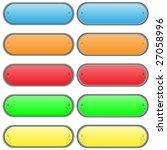 set of multi coloured volume... | Shutterstock .eps vector #27058996