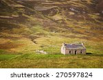 Derelict Stone Cottage In The...