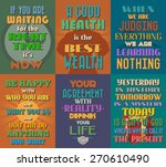 unusual motivational and... | Shutterstock .eps vector #270610490