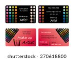 vector business cards for... | Shutterstock .eps vector #270618800