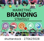 brand branding marketing... | Shutterstock . vector #270625028