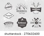 set of rough vintage hand drawn ... | Shutterstock .eps vector #270632600