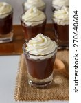 Chocolate Pudding Serve In Sho...