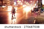 abstract bike on colorful... | Shutterstock . vector #270687038