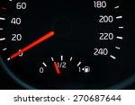 car dashboard speedometer...