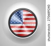 usa metal button | Shutterstock .eps vector #270689240