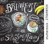 beautiful hand drawn... | Shutterstock .eps vector #270698924