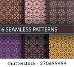 seamless vector pattern.... | Shutterstock .eps vector #270699494