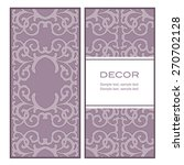 card in oriental style | Shutterstock .eps vector #270702128
