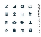 development  soft icons set on... | Shutterstock . vector #270706163