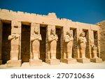 luxor. egypt | Shutterstock . vector #270710636