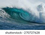 A Beautiful Blue Wave Crashes...