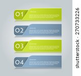infographic banner template for ... | Shutterstock .eps vector #270733226