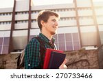 university.smiling young... | Shutterstock . vector #270733466