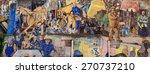 leith  scotland    18 april ...   Shutterstock . vector #270737210