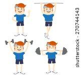 vector illustration set of...   Shutterstock .eps vector #270744143