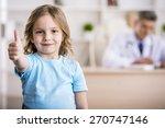 Cute Little Girl Is Showing...