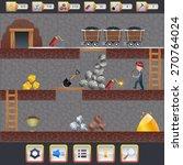 mining game treasure hunt...